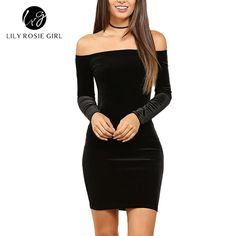 Lily Rosie Girl Women's Solid Off Shoulder Mini Sexy Club Party Bodycon Dress(S) QUALITY - Superior in material and excellent in workmanshipSoft and stretchy with good elasticpull-on closure SIZE CONCERNING - The item comes in US size tag, and it may runs a little small, plz choose one size up according to your own figure. please use our own Size Chart which located on the left of our product's image rather than size guide, and choose the proper size before you purchase. If you have p...