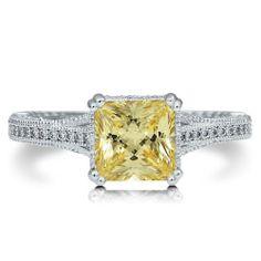 canary diamond....fake...but cheap!