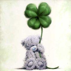 Tatty Teddy Bear - St. Patrick's Day
