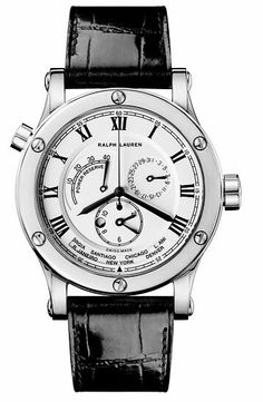 Montres Sporting world time white gold with white dial Ralph lauren : Maier,Ralph lauren Sporting world time white gold with white dial à Lyon Chronograph, Ralph Lauren, Luxury Fashion, Watches, Swiss Watch, Accessories, Future, Face, Zapatos