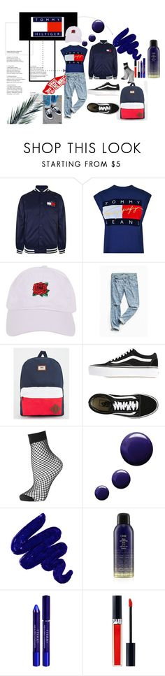 """""""Tommy and Vans"""" by olivia-6969 ❤ liked on Polyvore featuring Tommy Hilfiger, Vans, Armitage Avenue, Urban Outfitters, Topshop, Obsessive Compulsive Cosmetics, Oribe, By Terry and Christian Dior"""