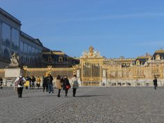 Entrance Gates to the Château de Versailles