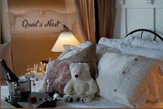 Our Quail's Nest Room -- soft and romantic