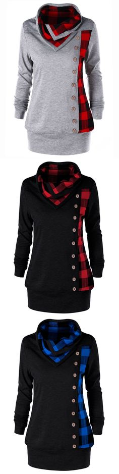 $11.11,Plus Size Plaid Cowl Neck Sweatshirt - Heather Gray 3Xl | Rosewholesale,rosewholesale.com,rosewholesale clothes,rosewholesale.com clothing,rosewholesale plus size,rosewholesale plus size tops,rosewholesale dress plus size,plus size hoodies and sweatshirts,plaid hoodies,plus size,tops,blouses,hoodies | #rosewholesale #hoodies #plussize #tops