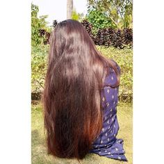 Indian Long Hair Braid, Braids For Long Hair, Beautiful Long Hair, Gorgeous Hair, Layered Cuts, Loose Hairstyles, Girls Dpz, Female Images, Hair Goals