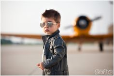Little Boy  Airplane Session- Photos by Gisselle  http://www.gisselleblog.com/alexs-airplane-session-childrens-photographer-montgomery-il/  #boyairplane #airplanephotoshoot