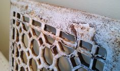 Chippy Rusty Iron Grate by shabbychatue on Etsy, $18.00