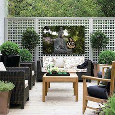 Foto op canvas voor buiten terras Outdoor Furniture Sets, Outdoor Decor, Patio, Home Decor, Photos, Homemade Home Decor, Yard, Porch, Terrace