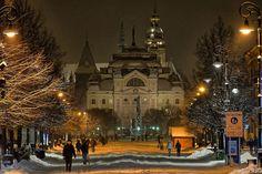 Košice, Slovakia, 13.1.2017 Mesto, My Town, Soft Light, Czech Republic, Hungary, Dusk, Night Light, Cities, Explore