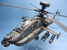 Boeing AH-64 Apache 1/48 Scale Model