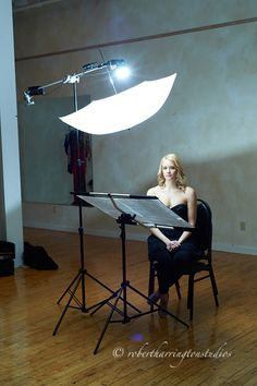 Bob Harrington-simple one light setup with reflector