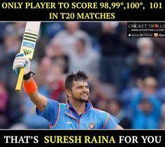 Suresh Raina Is The Specialist Batsman They Said, Well Said! Enfield Motorcycle, Latest Cricket News, Cricket Sport, Virat Kohli, Mahi Mahi, Super Heros, Planes, Iron Man, Legends