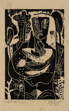 edward burra - cupbearer, 1928-29