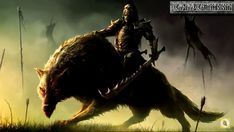 Brand X Music- Singularity Epic Action Vengeance Dark Orchestral Style) Tolkien, Wolf Rider, Fantasy Races, Fantasy Battle, High Fantasy, Fantasy Weapons, Computer Wallpaper, Hd Wallpaper, World Of Warcraft