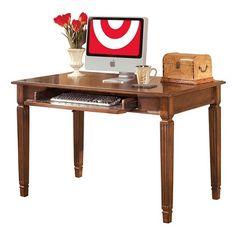 Hamlyn Home Office Small Leg Desk Medium Brown - Signature Design by Ashley