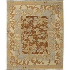 Sonoma Flat Pile L 120 X W 96 Rectangle Wool Rug SNM-8983