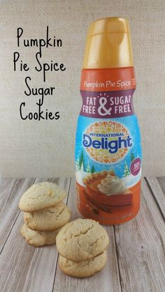 Sugar Cookies Pumpkin Spice Pumpkin Pie Spice Sugar Cookies #IDelight