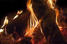Feuer, Holz, Flammen, Lagerfeuer