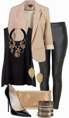 This is perfect from head to toe. I love everything in this grouped photo for work attire or date night attire.