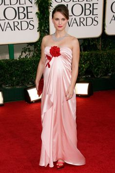 65 Best Golden Globe dresses of all time -   NATALIE PORTMAN -   It's safe to say 2011 was Natalie Portman's year. Pregnant with her first child, the yummy mummy-to-be was radiant as she swept down the red carpet in a pretty pale pink Viktor and Rolf gown, teamed with coordinating scarlet Stella McCartney heels, a Dior clutch and Tiffany & Co. gems. Oh, and if all that wasn't enough, she scooped the best actress statue for Black Swan, too. (2011)