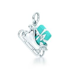 Tiffany Blue. Love this charm!