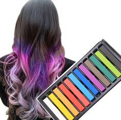 Temporary Pastel Hair Color