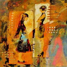 Mother Daughter by judy thorley