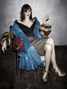 Prada Fall/Winter 2013/2014 Campaign by Steven Meisel