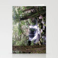 Russell Falls, Tasmania, Australia Stationery Cards