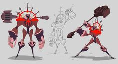 "Tristan ""Sifflant"" Brard — For the character design challenge , the theme is..."