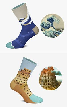 Colossal Art, Art History, Textiles, Cozy, Socks, Pairs, Ceramics, Metal, Fabric