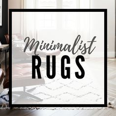 Are you looking for a minimalist lifestyle change or minimalist design ideas? Visit my blog where I share useful information about minimalism to succeed by simplifying your life and environment. Click to learn more! Minimalist Rugs, Minimalist Design, White Rug, White Area Rug, Minimal Home, Minimalist Lifestyle, Rugs In Living Room, Outdoor Rugs, Minimalism