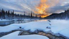 Banff National Park Alberta Canada River