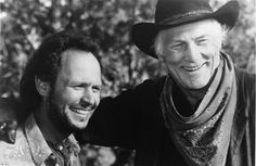 Billy Crystal and Jack Palance in City Slickers (1991)