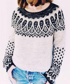 Sipila Knitting pattern by Caitlin Hunter Crochet Fall, Knit Crochet, Icelandic Sweaters, Knit Basket, Christmas Knitting Patterns, Circular Knitting Needles, Dress Gloves, Fair Isle Knitting, Yarn Brands