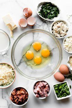 Perfect Quiche Recipe (Any Flavor! Breakfast Quiche, Breakfast Dishes, Breakfast Recipes, Breakfast Ideas, Perfect Quiche Recipe, Ricotta Fritters, Sallys Baking Addiction, Homemade Pie, Quiche Recipes