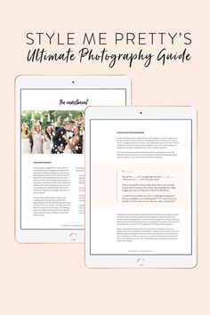 Ever wonder why lighting is so important when it comes to wedding day photography? 🤷♀️ We're giving you the inside scoop on stylemepretty.com and for even MORE info on all things wedding photography, check out our Ultimate Photography Guide! #stylemepretty #weddingphotography #weddingphotographer Photography Guide, Film Photography, Digital Photography, Wedding Photography, Plan Your Wedding, Wedding Planning, Wedding Venue Decorations, How Do You Find, Little Black Books