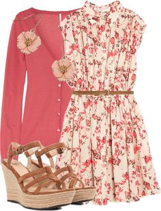 """Cherry Blossom"" by qtpiekelso on Polyvore"