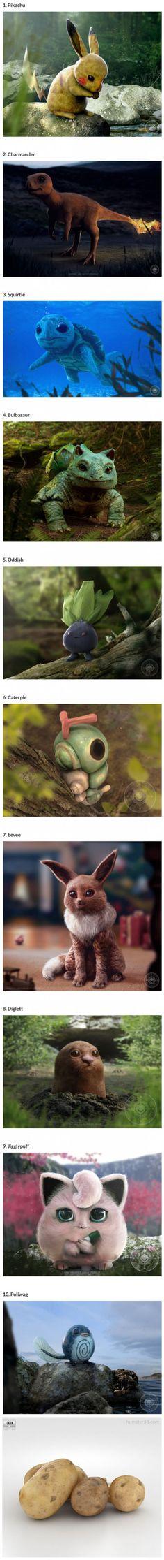 Prepare Yourself For The Most Realistic Pokemon Fan Art Ever