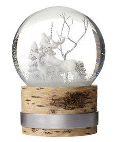 Large snow globe                                                       …