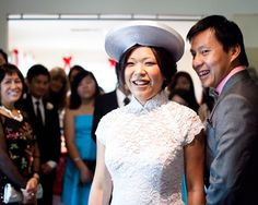 Singaporean Dawn Lim, 36, married her sweetheart, Melbourne-raised Vietnamese Hoang Ha, 33, after dating for 10 years. Find the full story at http://www.herworldplus.com/weddings/real-weddings/multi-destination-wedding-dawn-hoang #weddings #herworldbrides