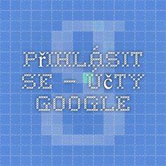 Přihlásit se – účty Google