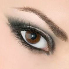 Tips for applying eye shadow (brown eyes)