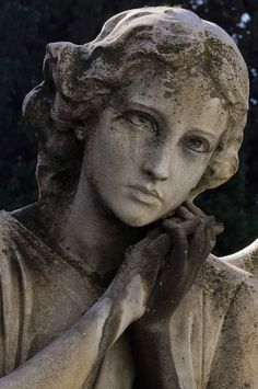 The Different Types of Guardian Angels - LovePsychic Cheap Outdoor Statues # Cemetery Angels, Cemetery Statues, Cemetery Art, Statue Ange, Outdoor Statues, Art Sculpture, Clay Sculptures, Greek Art, Guardian Angels