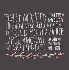 I love Piglet. hand lettering by lisa congdon