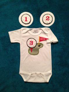 Golf Tee Onesies for 112 Month old Baby Boys by keepsakekidz, $20.00
