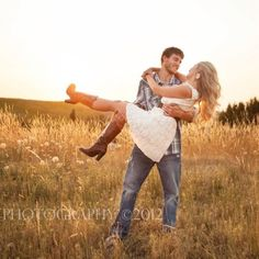 Our country engagement photo shoot <3