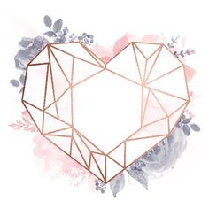 I think I'm in love with this design from the Silhouette Design Store! - I think I'm in love with this design from the Silhouette Design Store! Gold Wallpaper Background, Rose Gold Wallpaper, Wallpaper Backgrounds, Red Wallpaper, Tapete Gold, Marble Iphone Wallpaper, Geometric Heart, Floral Logo, Cute Patterns Wallpaper
