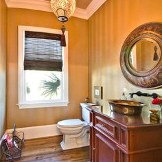 Traditional (Victorian, Colonial) Bathroom by Lorraine Vale