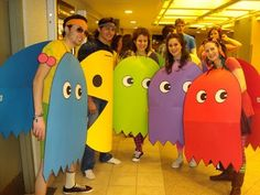 group halloween costume pacman with ghosts and extra dpride 2015 costume ideas pinterest. Black Bedroom Furniture Sets. Home Design Ideas
